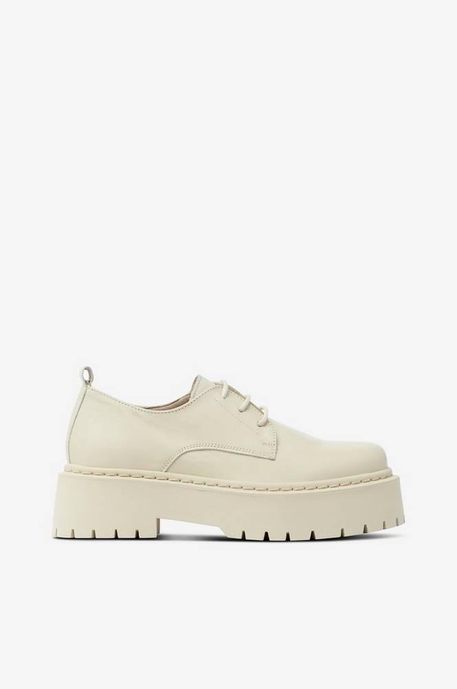 Bianco Lave sko biAdeb Laced Shoe