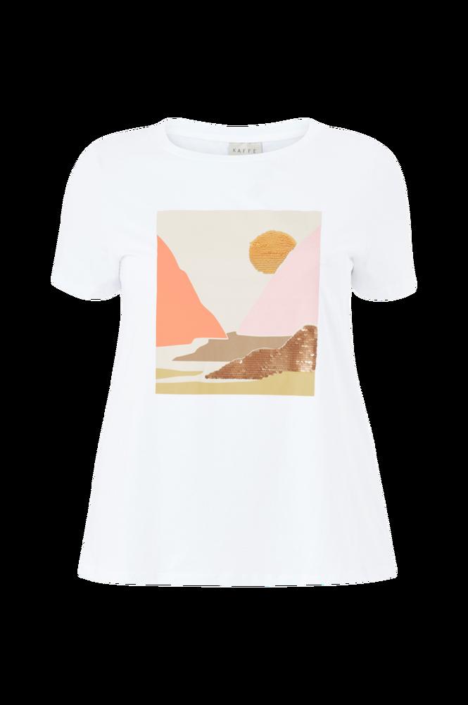KAFFE Curve Top kcDricte T-shirt