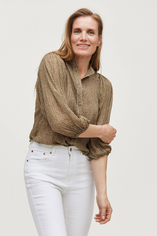 Second Female - Blus Firenze Shirt - Natur