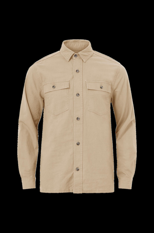 Lindbergh - Overshirt Linen L/S - Natur