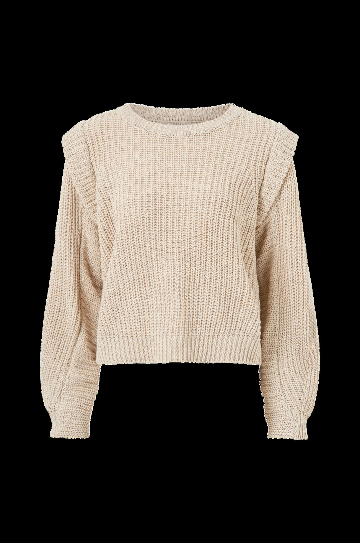 Only - Tröja onlLexine L/S Pullover Knt - Natur