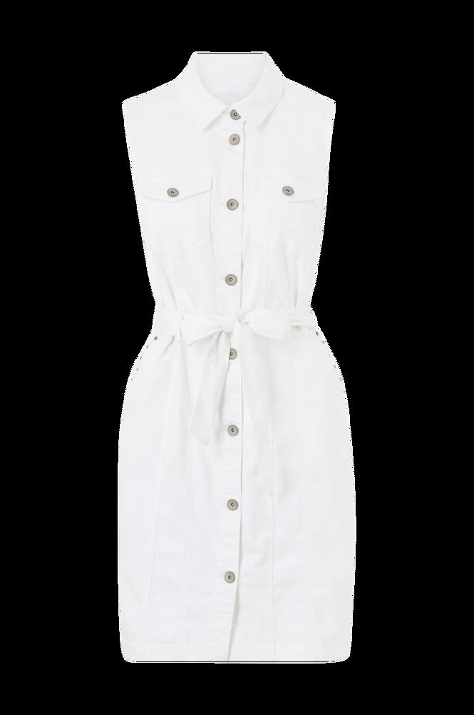 Cream Skjortekjole crBinka Dress