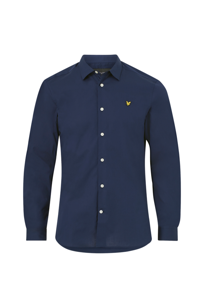 Lyle & Scott Skjorte Slim Fit Poplin Shirt