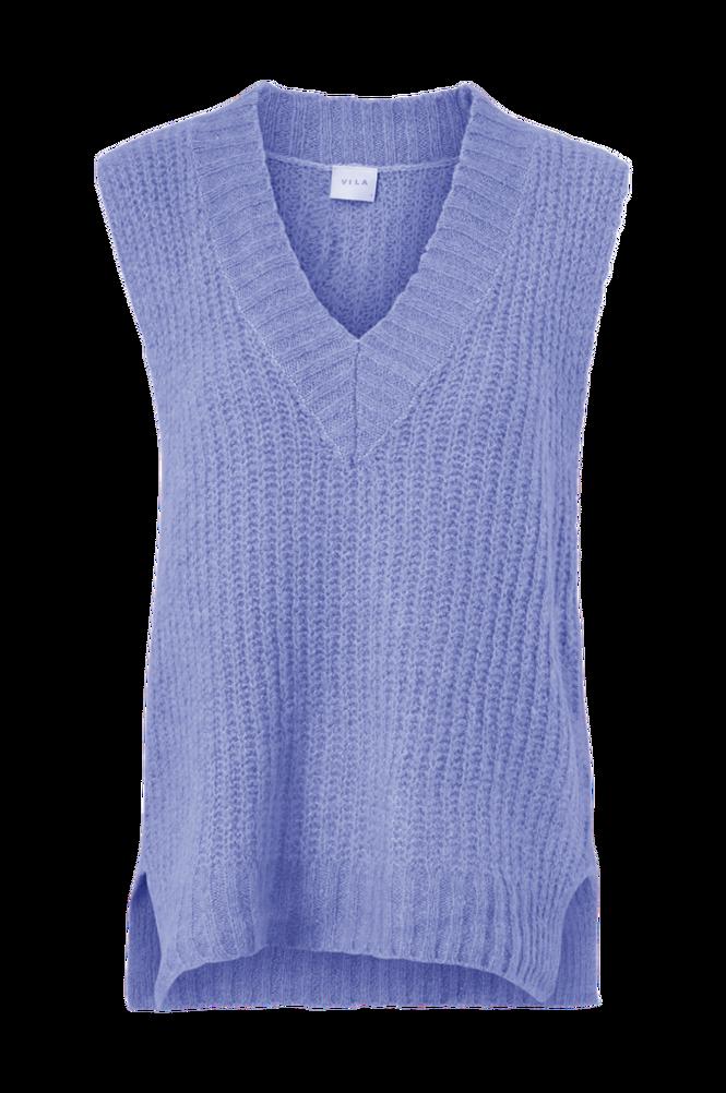 Vila Vest viKrimia V-neck Wool Knit Vest
