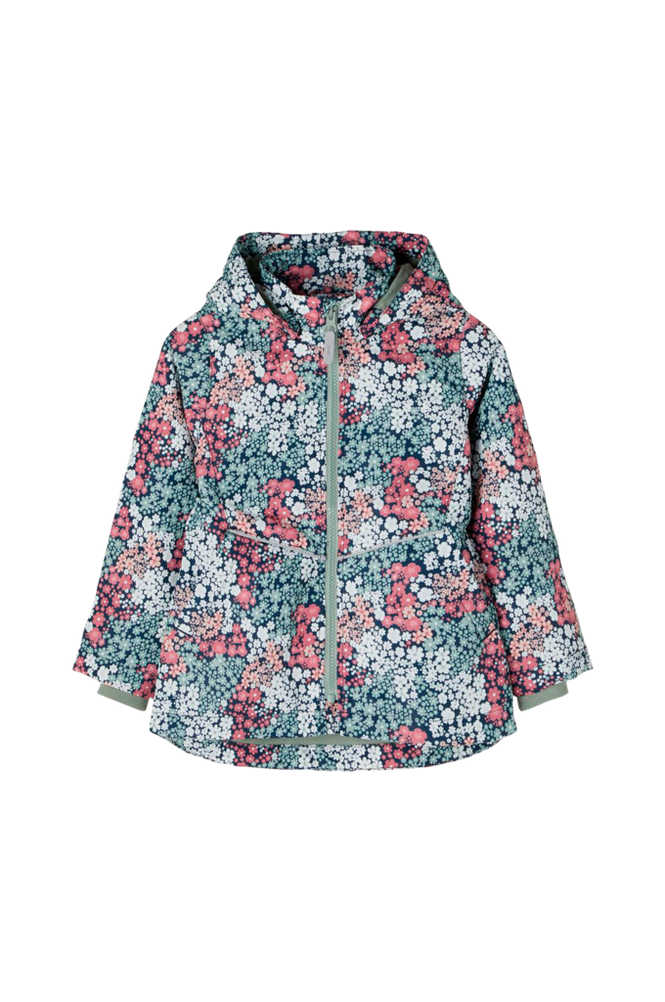 name it Jakke nmfMaxi Jacket Flower2