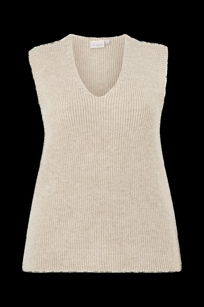 Only Carmakoma Vest carParis Life V-neck Vest EX Knt