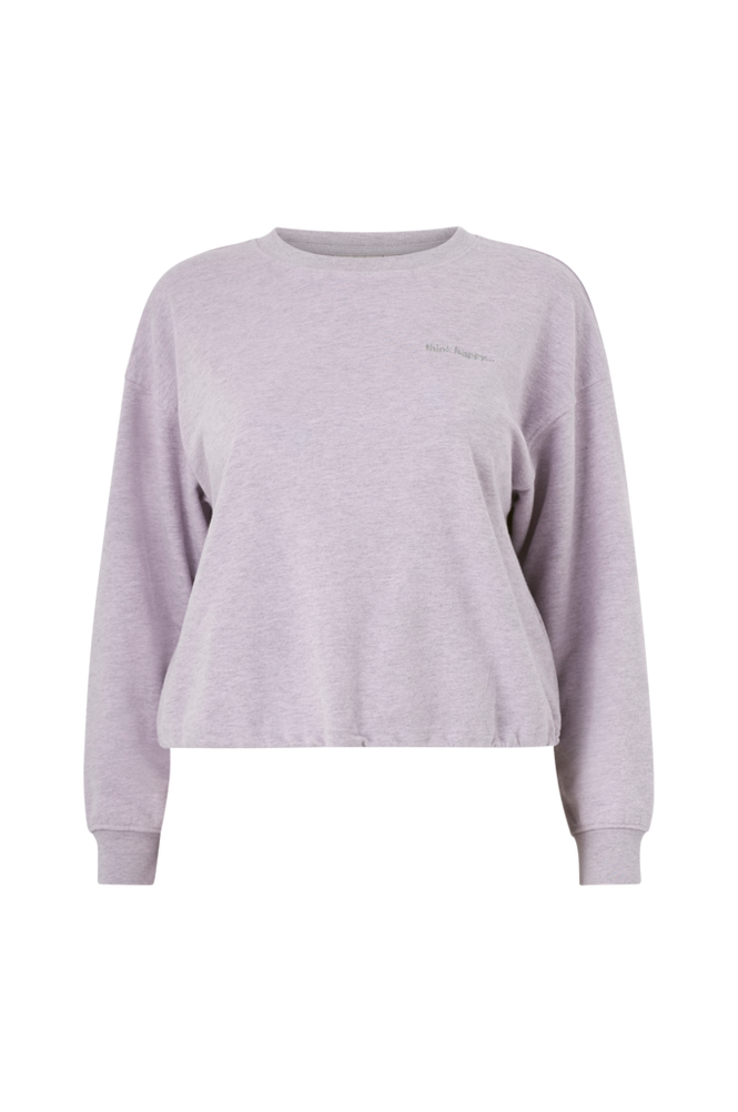 Only Carmakoma Sweatshirt Dawn Life LS O-neck Short Sweat