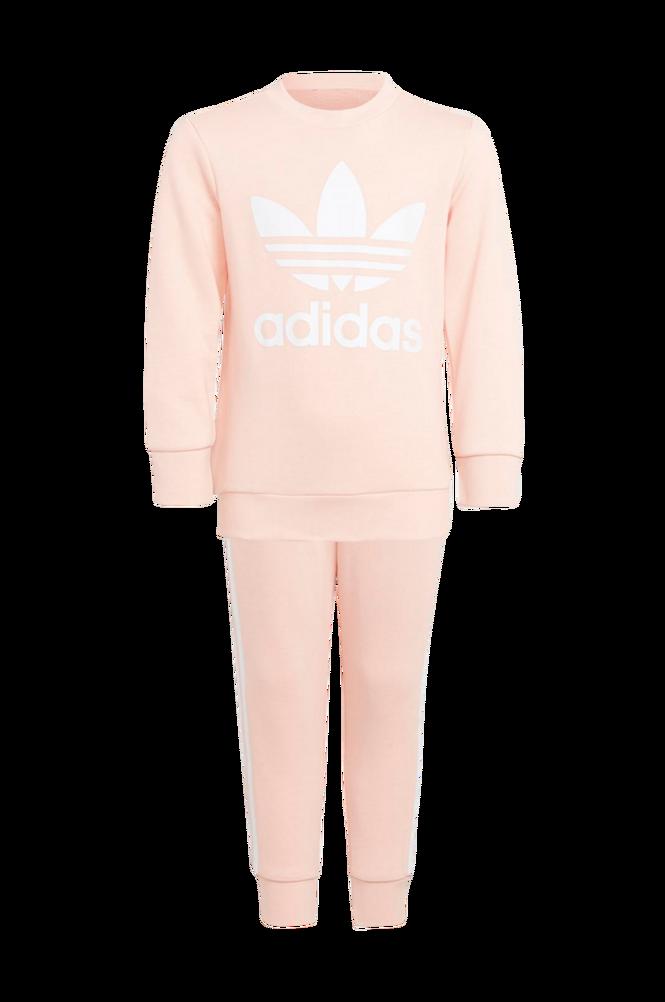 Se adidas Originals Adicolor Crew Set, sweatshirt og bukser ved Ellos
