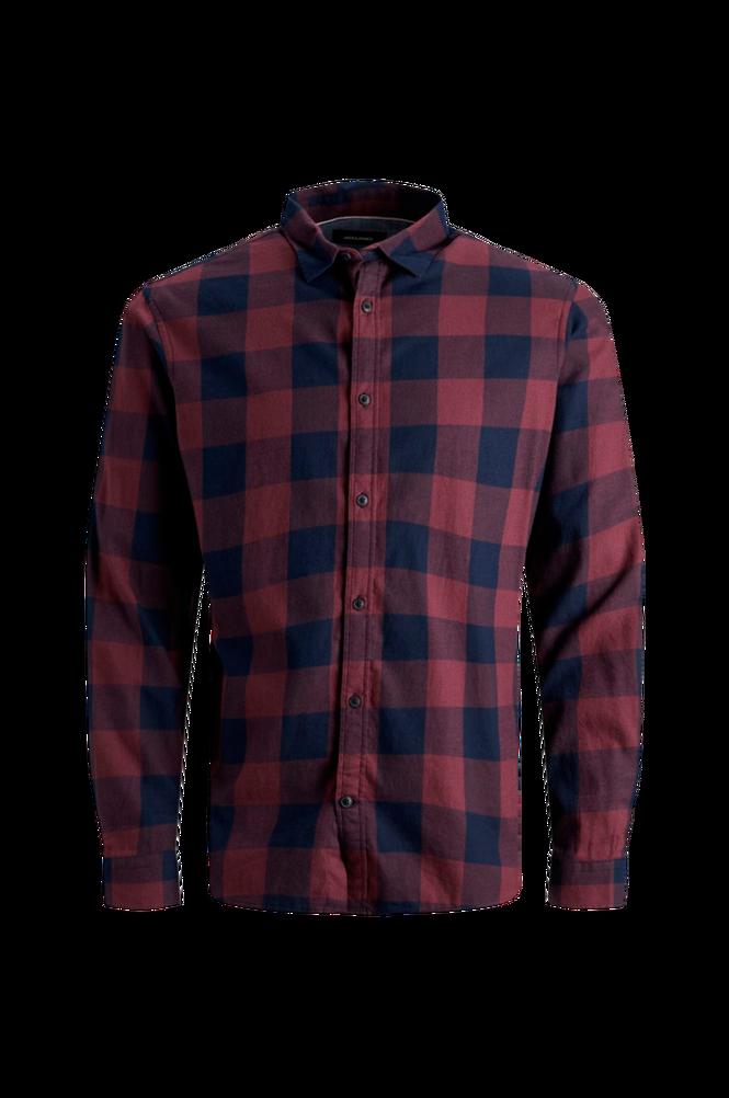 jack & jones Skjorte jjeGingham Twill Shirt L/S PS Noos