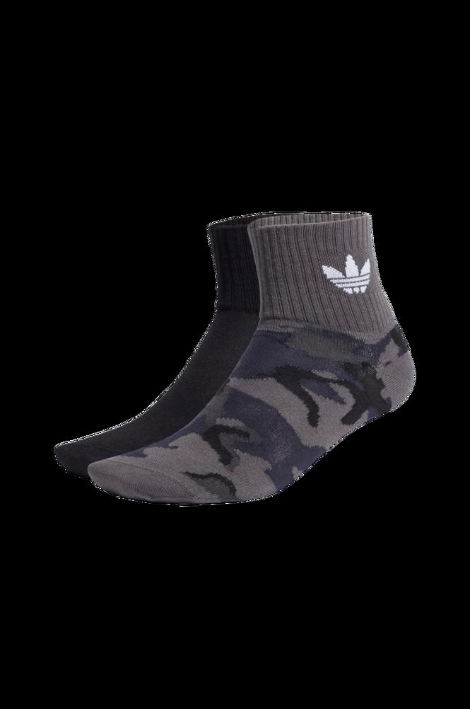 adidas Originals Ankelsokker Camo Mid-Ankle Socks 2-pak