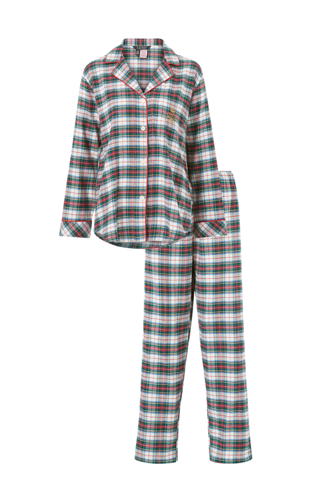 Lauren Ralph Lauren Pyjamas Notch Collars PJ Set