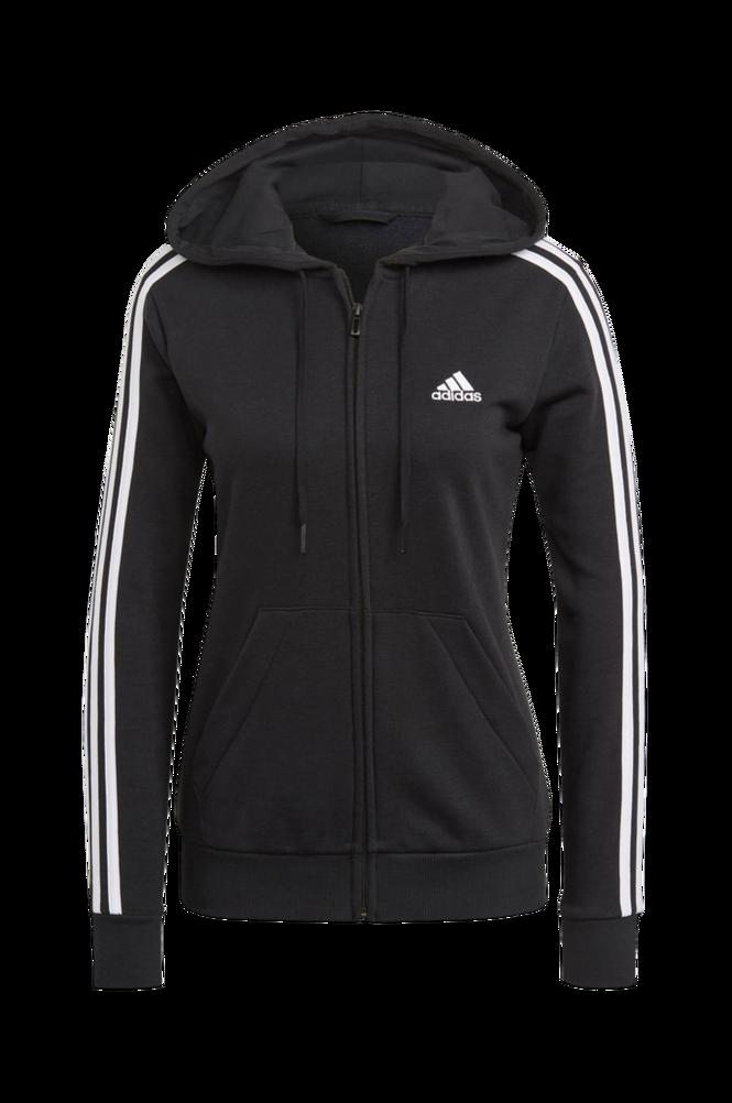 adidas Sport Performance Hættetrøje Essentials French Terry 3-stripes Full-zip Hoodie