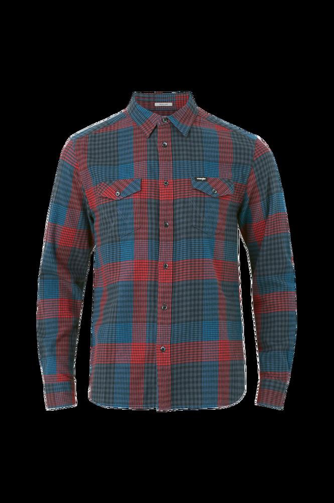 Wrangler Skjorte LS 2 Pocket Flap Shirt