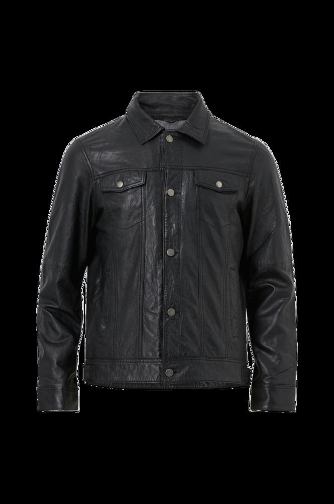 Jofama Skindjakke Adrian Buttoned Leather Jacket