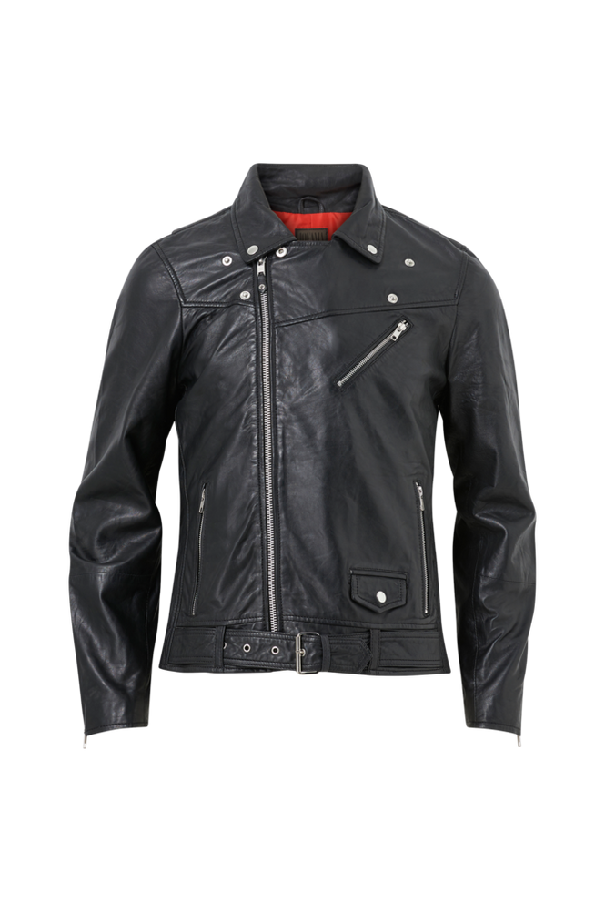 Jofama Skindjakke Brice Belted Leather Jacket