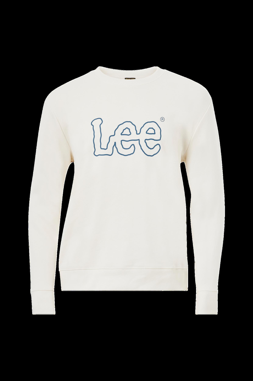 Lee - Sweatshirt Basic Crew Logo Sws - Natur