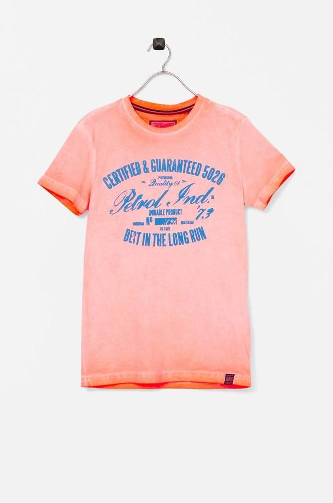 Petrol T-shirt SS R-neck