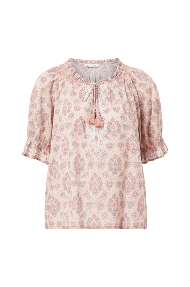 Odd Molly Bluse Isabelle Short Sleeve Blouse