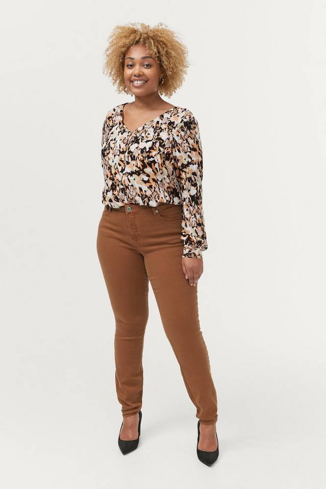 Zizzi Jeans jAnn Amy Super Slim Plus Size High Waist