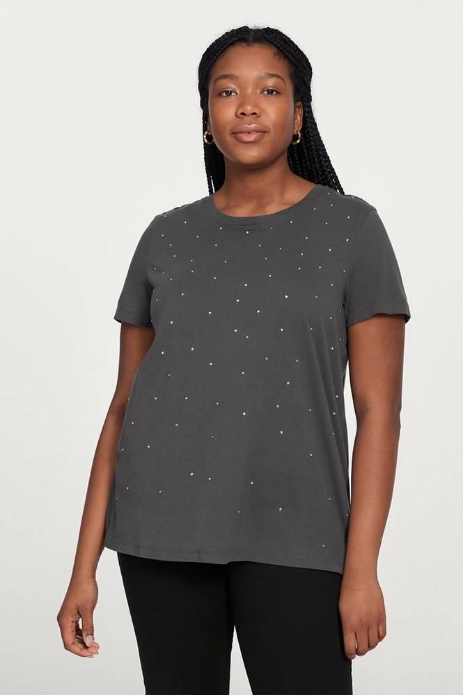 Zizzi Top mKalani S/S T-shirt