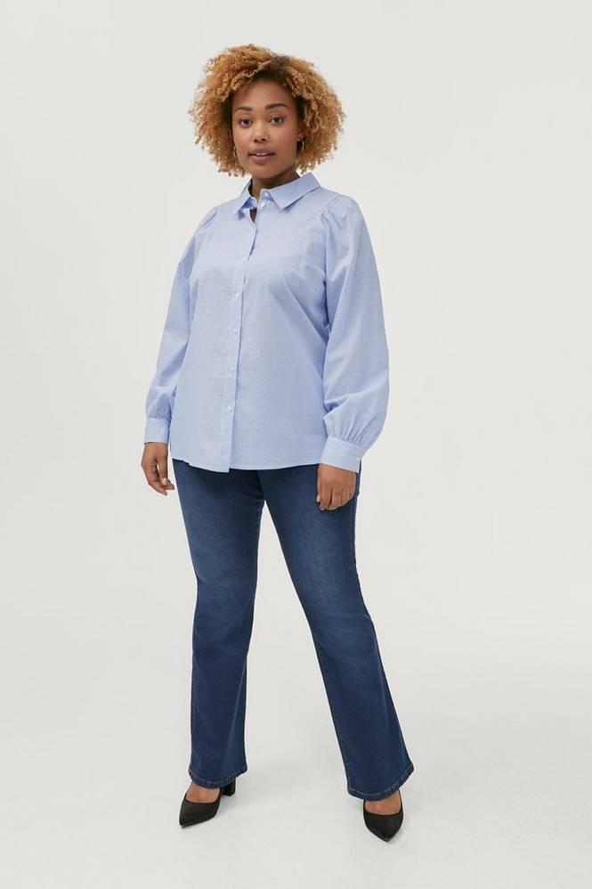 Zizzi Jeans jOlivia Ellen Bootcut Fit Plus Size High Waist