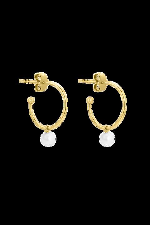 Örhängen Pearl Mini Hoops