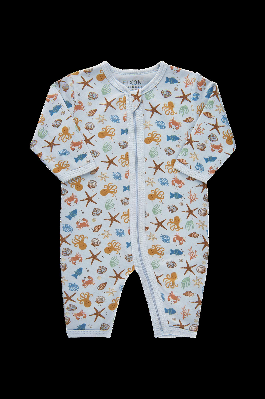 FIXONI - Pyjamasoverall - Blå