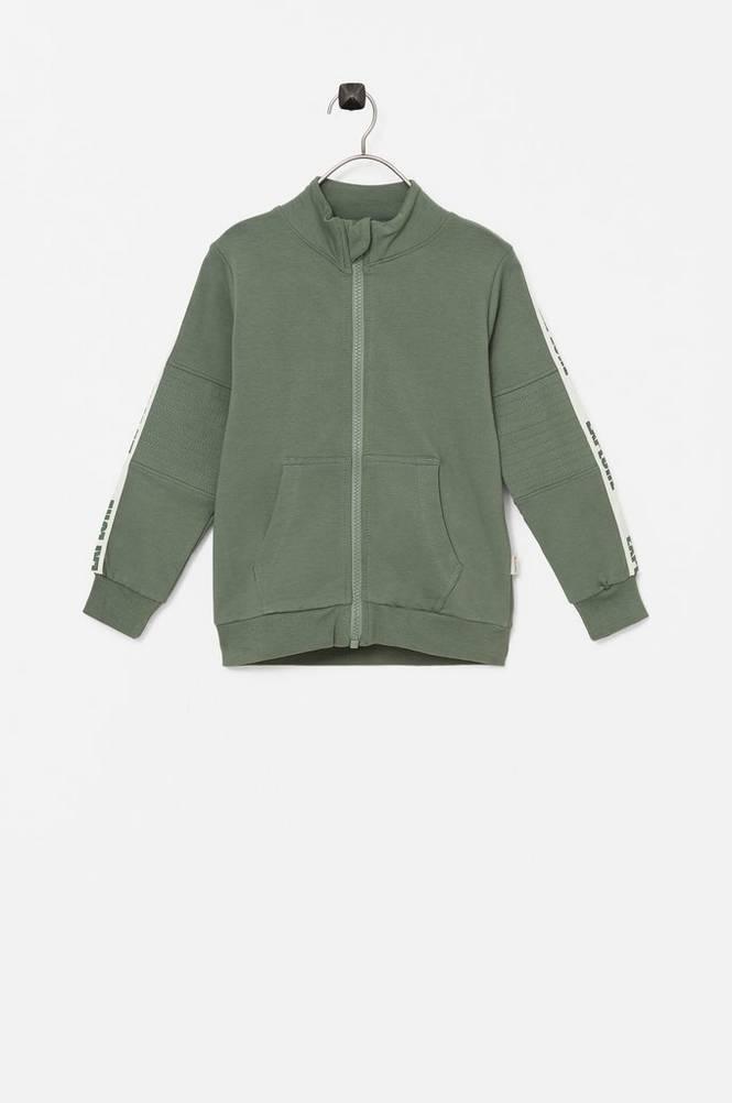 Minymo Sweatshirt med lynlås