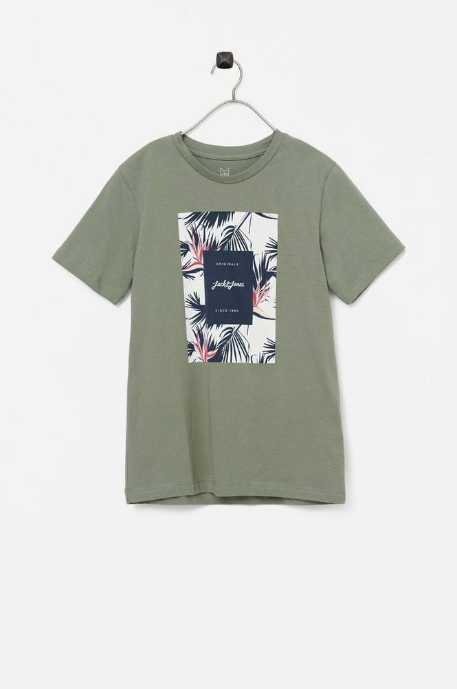 jack & jones T-shirt jorFlorall Print Tee SS Crew NeckREW NECK J