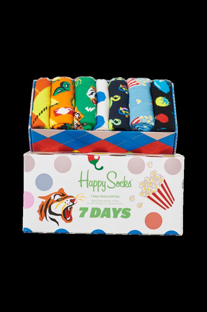 Happy Socks Gaveæske 7 Days Socks Gift Set 7-Pak