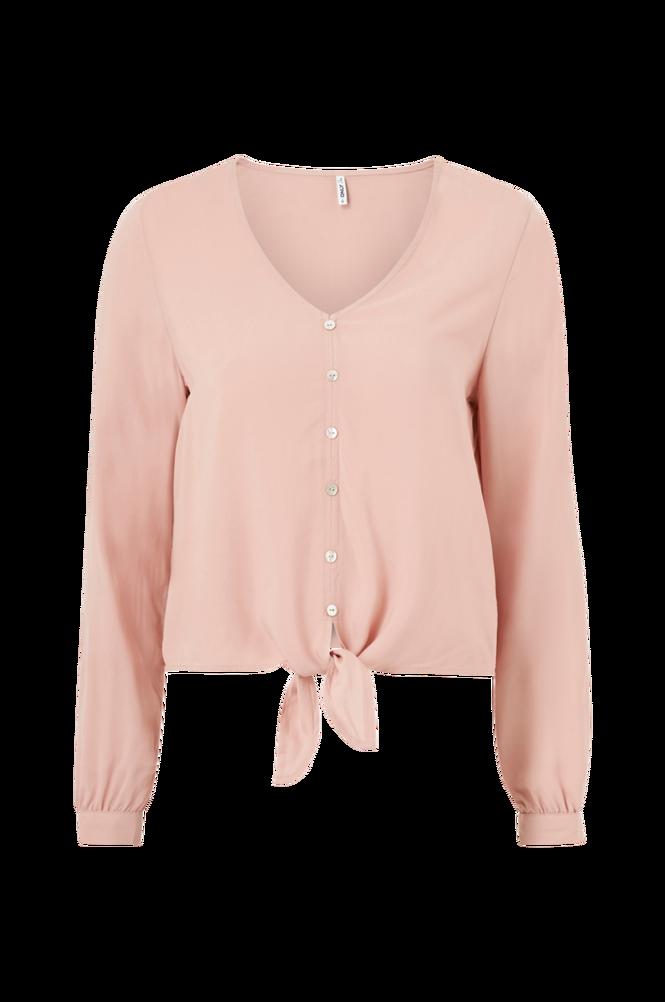 Only Bluse onlNina Life L/S Tie Shirt