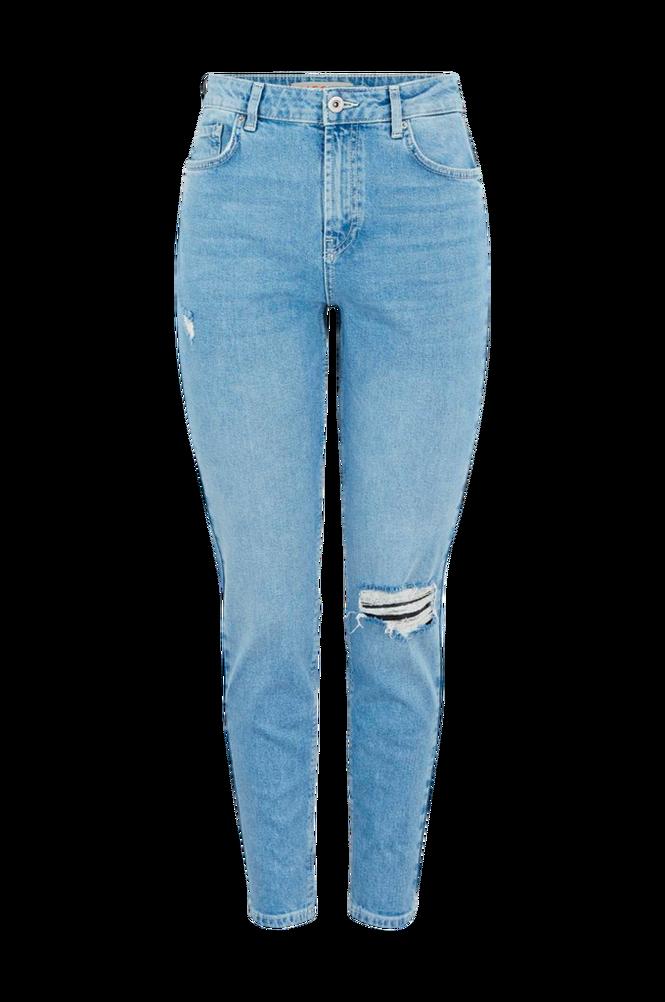 Pieces Jeans pcLeah Mom HW Ank Dest LB110-BA/CP