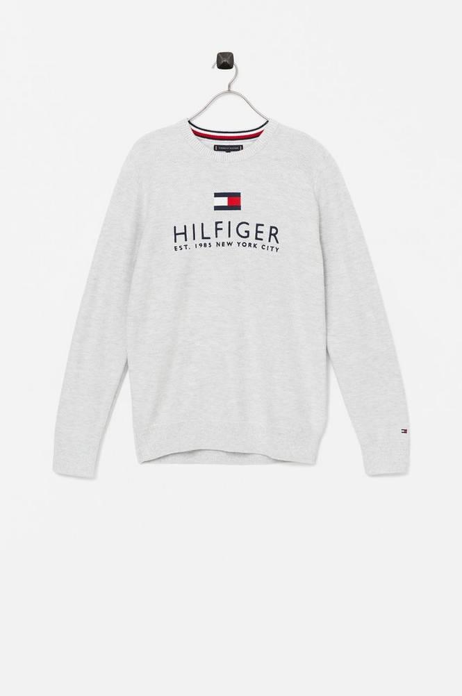 Tommy Hilfiger Trøje Multi Color Melange Sweater