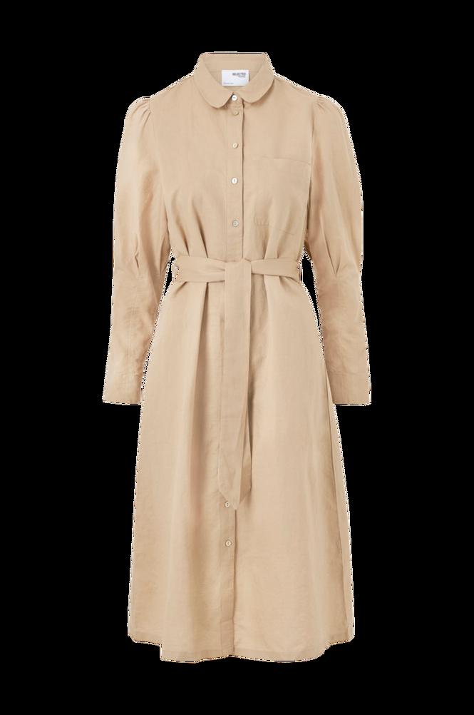 Selected Femme Skjortekjole slfSybilla-Florenta LS Midi Dress