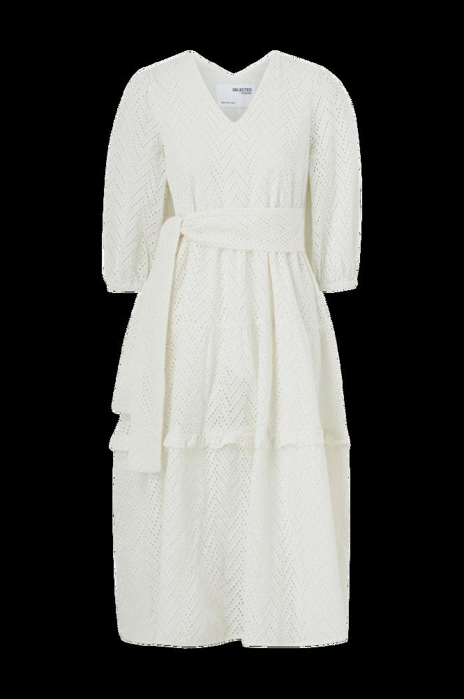 Selected Femme Kjole slfCece-Sadie 3/4 Midi Dress