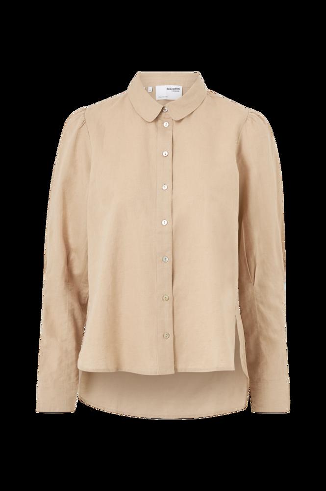 Selected Femme Hørskjorte slfSybilla Linen Shirt