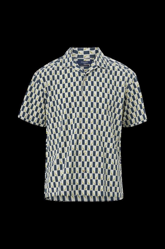 jack & jones Skjorte jprBluchad Resort Shirt S/S Relax