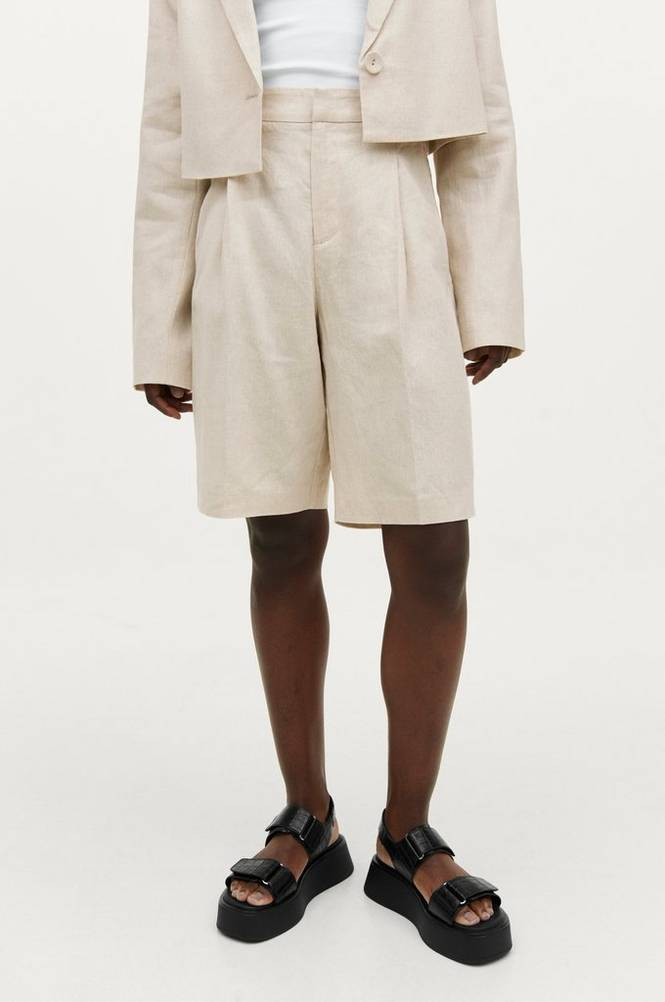 Gina Tricot Shorts Caroline Linen Shorts