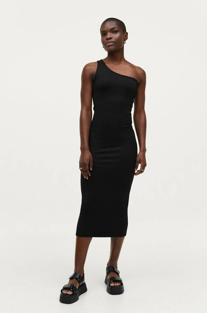 Gina Tricot Kjole Joline One Shoulder Dress