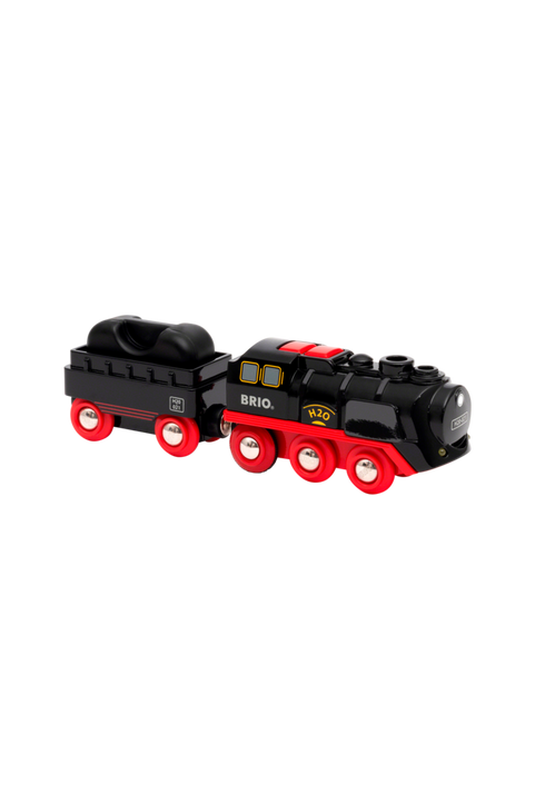 33884 Battery-Operated Steaming Train