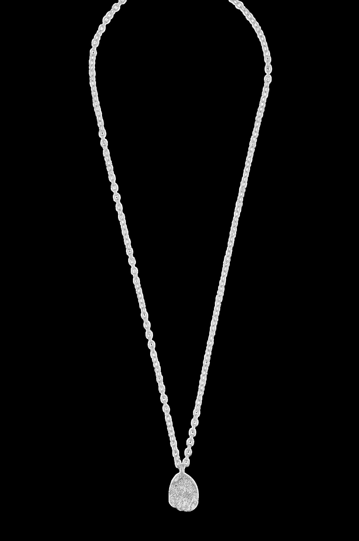 Snö of Sweden - Halskedja Rue Coin Pendant Necklace - Silver
