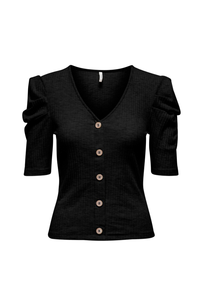 Only Top onlNella 2/4 Button Top