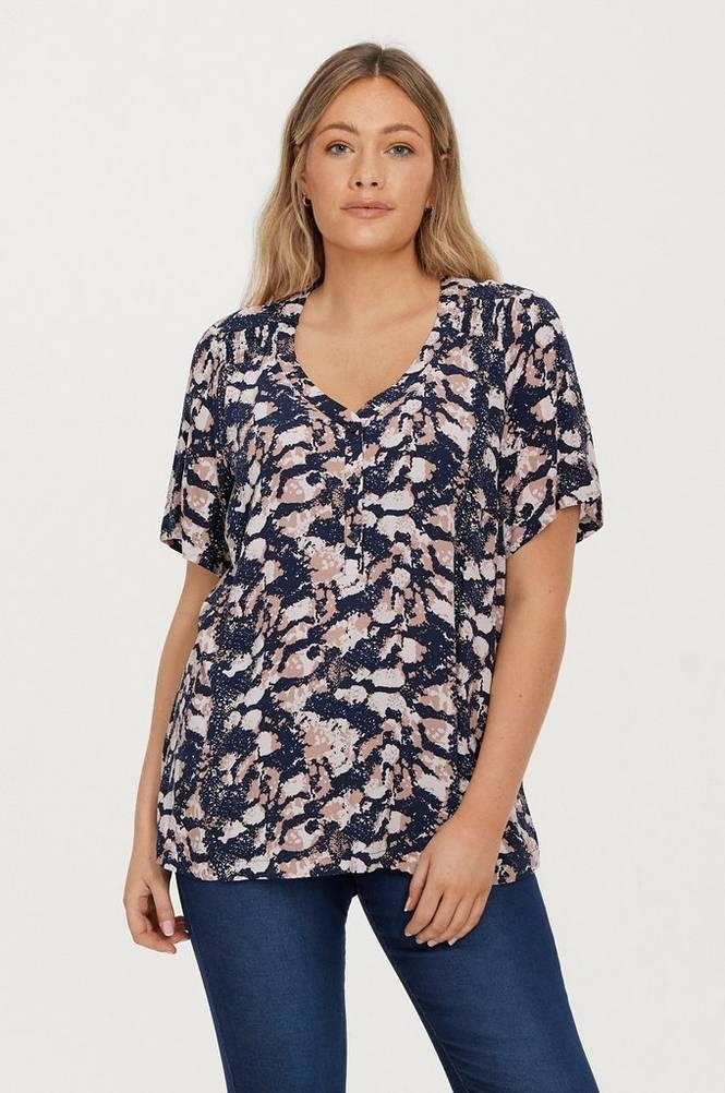 Zizzi Top vAmone S/S Shirt