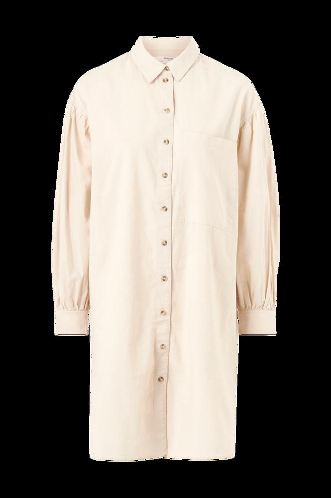 Selected Femme Skjortekjole slfCecilie LS Short Shirt Dress