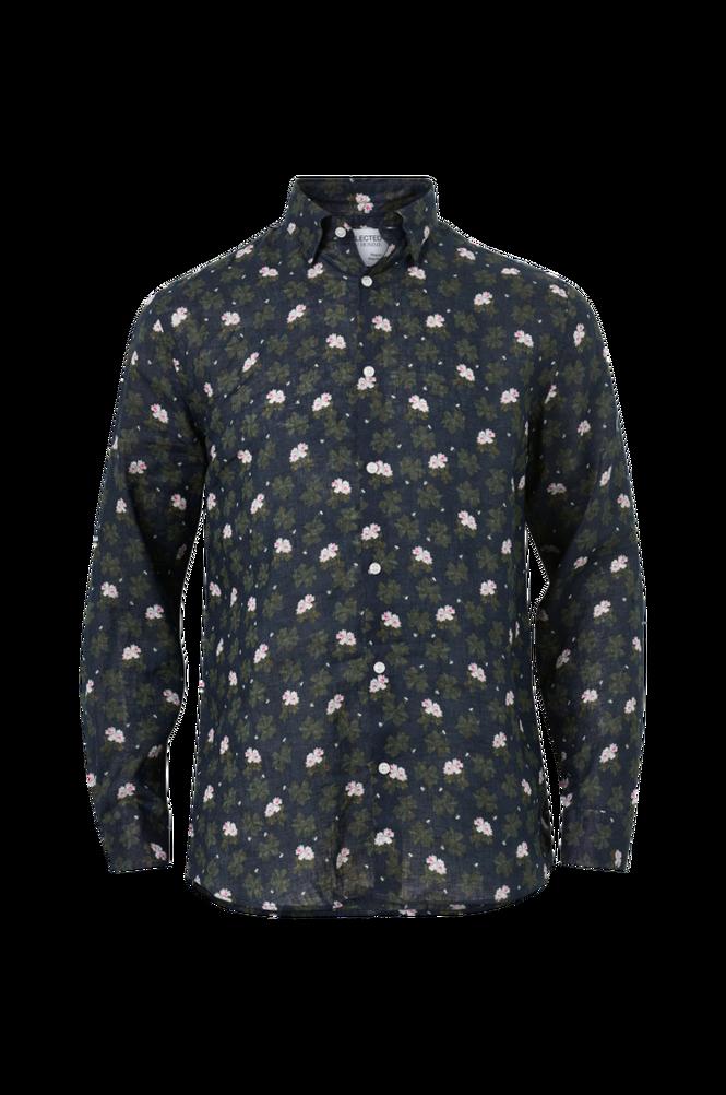 Selected Homme Skjorte slhRegrex-Clover Shirt LS Aop B