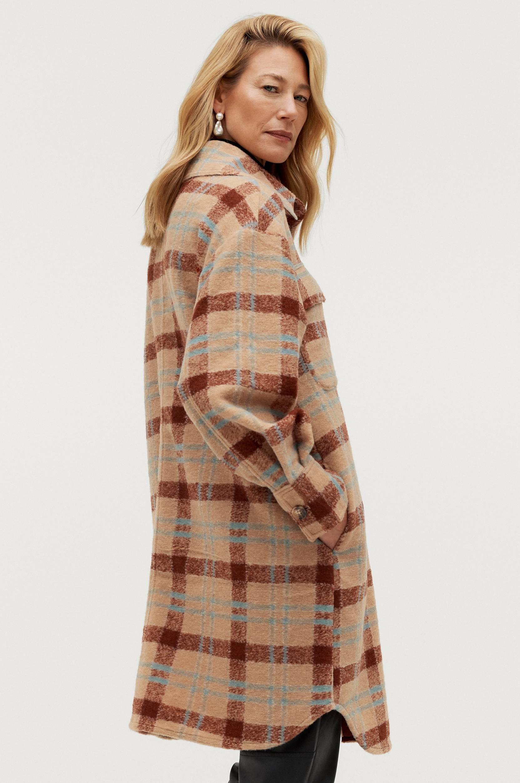 Soaked in Luxury - Skjortjacka slCookie Coat - Natur