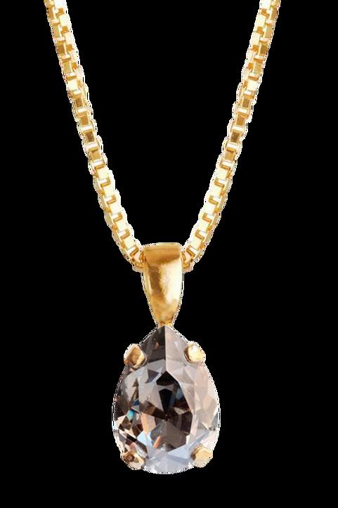 Halsband Petite Drop Necklace Gold