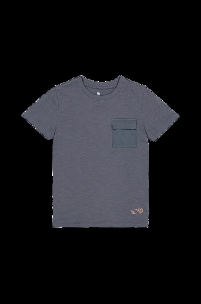 La Redoute T-shirt med rund halsudskæring og brystlomme