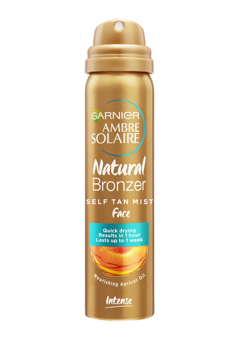 Ambre Solaire Natural Bronzer Self Tan Mist Face 75 ml