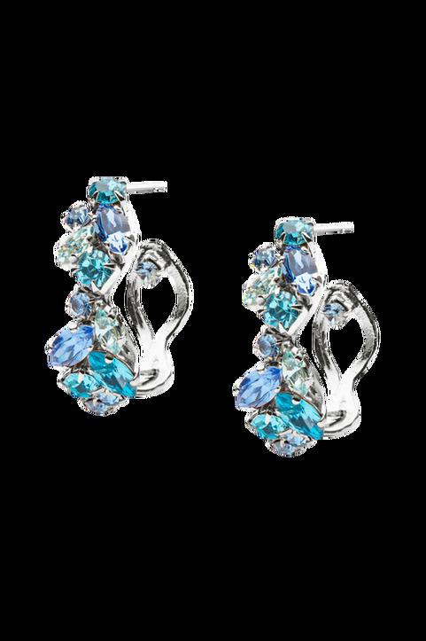 Örhängen Stella Loop Earring Rhodium